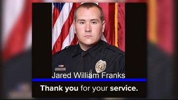 Family, Friends, Co-Workers, Pay Final Respects To Fallen Greensboro Police Officer Jared Franks