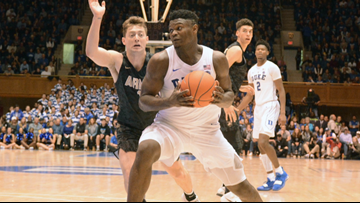 Zion Williamson Earns ACC Player, Rookie Of The Week
