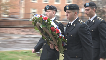 'You Have That Pride That You Served Your Country' Veterans Day At Wake Forest University