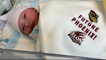 Baby Gets Free Entrance to all Elon Athletic Events Until 18th Birthday