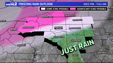 NOT A WEATHER DRILL! Freezing Rain Possible Thursday Morning