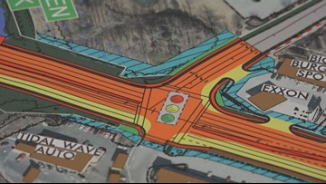 Engineers Reveal Plan To Widen Section of Battleground Avenue in Greensboro
