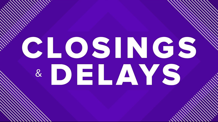 LIST | School Closings, Delays For Thursday Due To Winter Weather