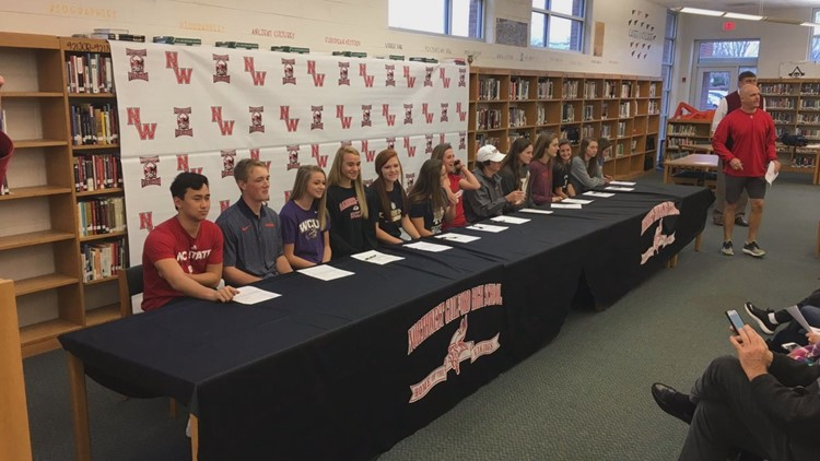 Triad Athletes Participate In National Signing Day