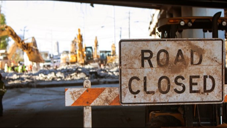 From Peters Creek Parkway to US 52 | The 2 Year Business 40 Closure Is Here
