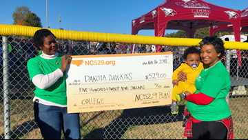 Babies Hit The Gridiron, Secure Future Education At NC A&T Vs. NC Central Football Game