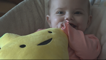'Somebody Had To Lose Their Baby For Mine To Live' | Triad Baby's Life-Saving Transplant