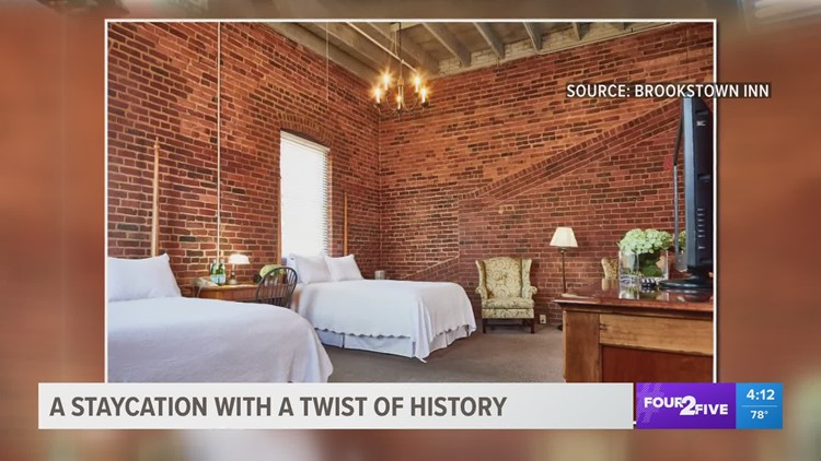 A Triad staycation with a twist of history