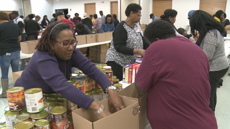 High Point Church Packs Enough Thanksgiving Meals to Feed 10,000