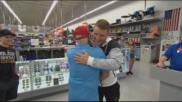 Panthers Player, Christian McCaffrey Reunited With Man He Saved