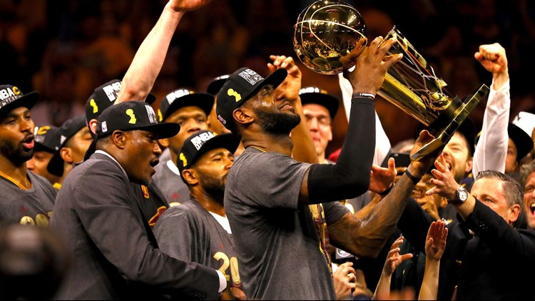1c1ef840c4e WATCH  Cleveland Cavaliers Honor LeBron James With Tribute Video ...