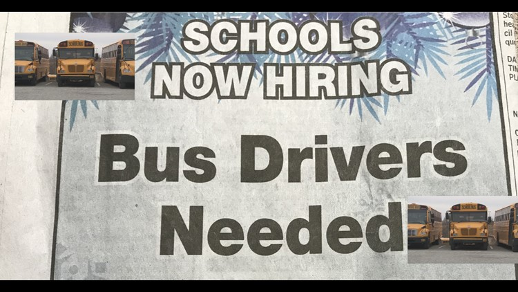Bus Driver Shortage Keeps Kids Out In The Cold, Creates Problems For Guilford Co. Schools