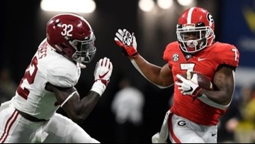 Alabama Wins SEC Title After Defeating the Georgia Bulldogs 35-28