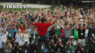 The Green Jacket is Back with Tiger Woods