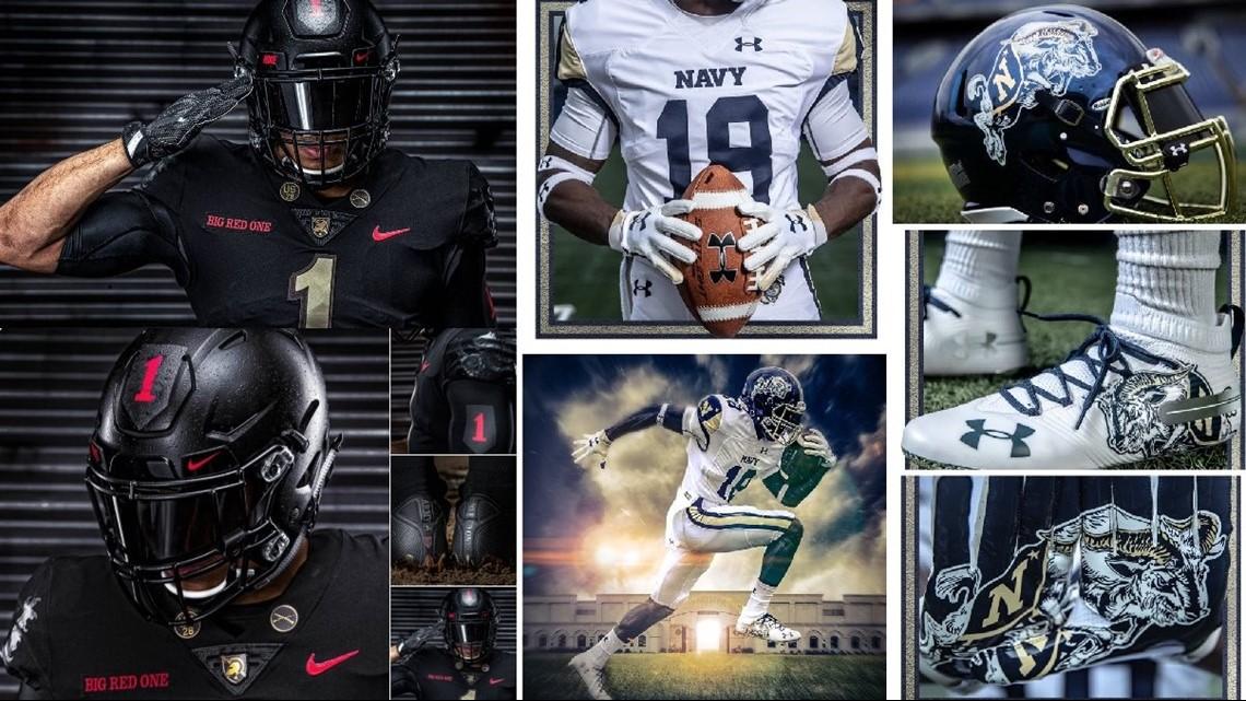 494e2e57e Battle of the uniforms for the 2018 Army-Navy game. (Photos  Army Football