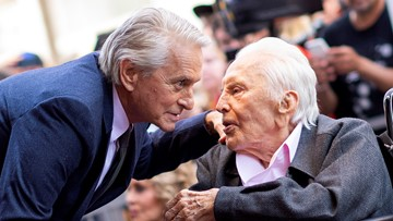 Kirk Douglas Celebrates 102nd Birthday