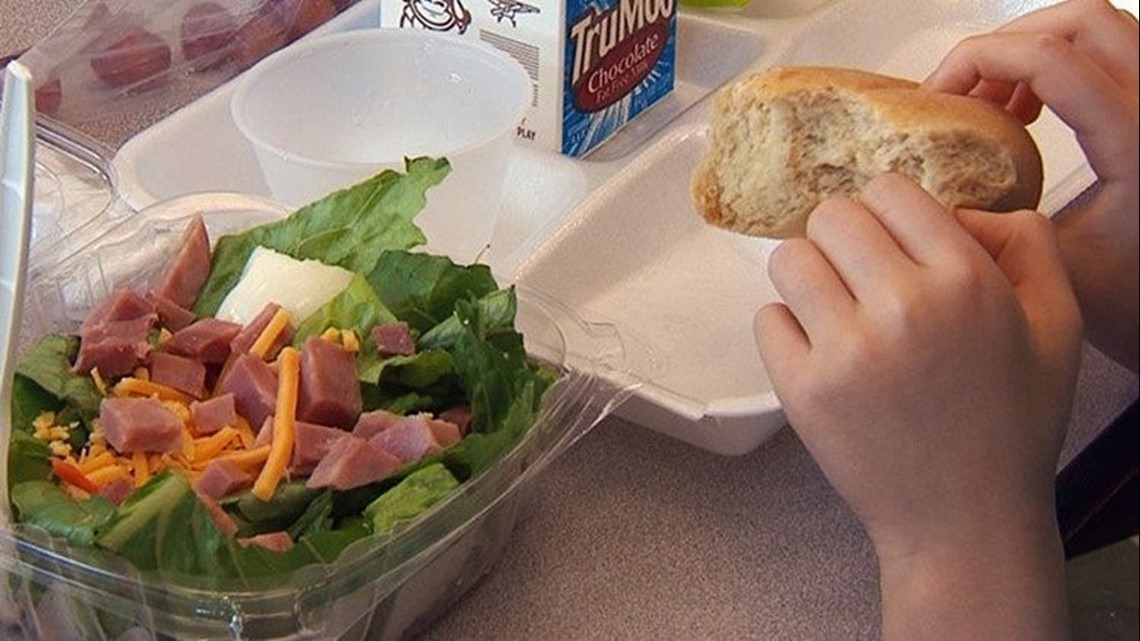 NC School System Reducing Lunch Menu To 'Minimum Level' During Government Shutdown