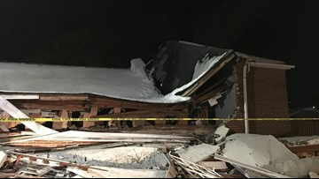 Thomasville Church Hit By Vandalism, Arson, Now Condemned After Roof Collapse From Snow