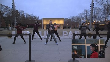 MUST SEE VIDEO: Triad Man Surprises Wife With Flash Mob For 10 Year Anniversary