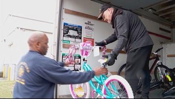 Man Buys 10 New Bikes After Dozens Stolen From Children