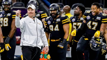 Appalachian State Rolls Past Middle Tennessee 45-13 in New Orleans Bowl