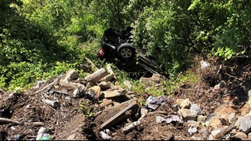 NC Couple Reportedly Left Trapped For 9 Hours In Wrecked SUV After Driver Runs Off Road, Down Embankment