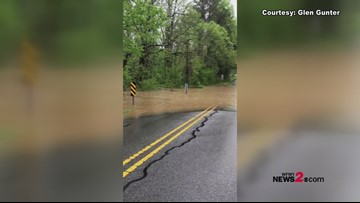 Heavy Rain, Storms Bring Flooding To The Triad