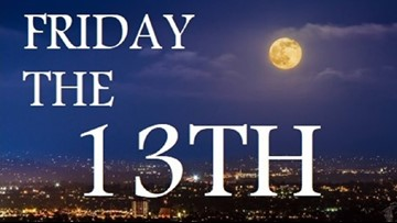 It's Friday The 13th and a Full Moon, Oh Yeah!