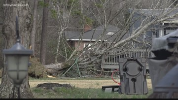 Damage and debris scattered across Liberty after confirmed tornado touched down