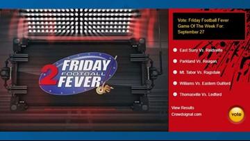 Friday Football Fever Game Of The Week For September 27: Thomasville vs. Ledford