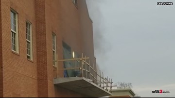 Fire At Sutton Sports Performance Center