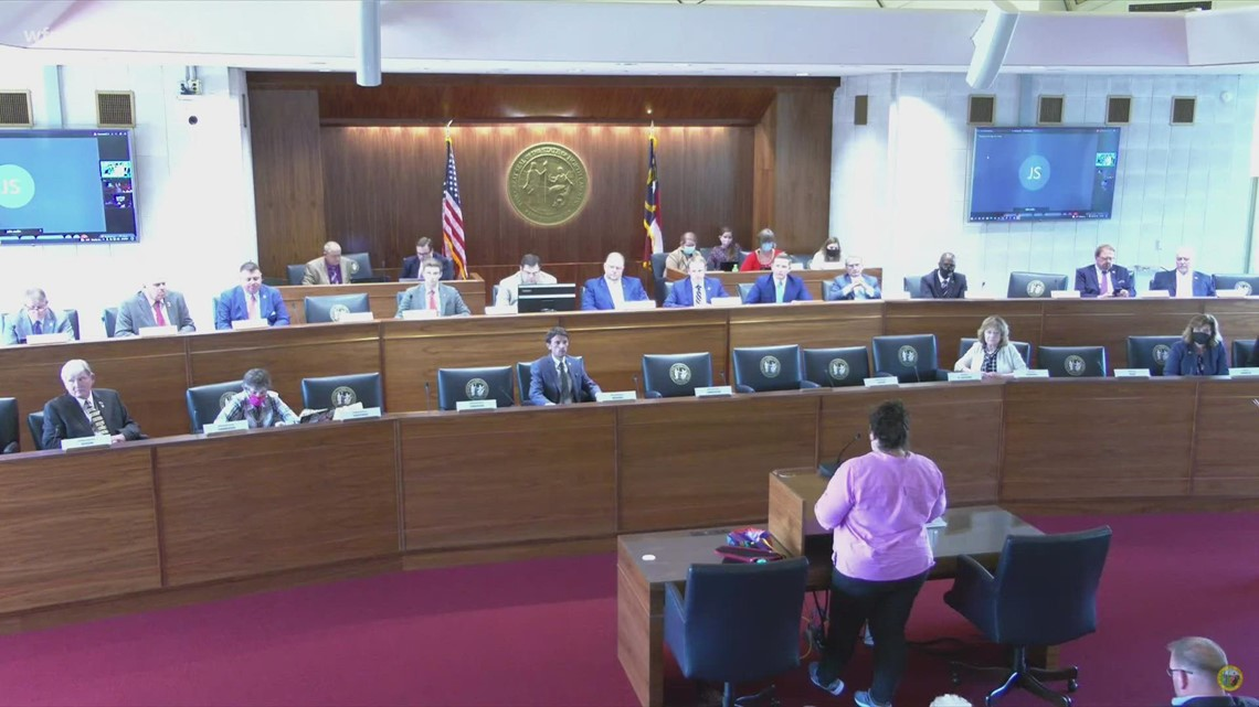 State lawmakers hold a town hall to gather public input on redistricting lines.