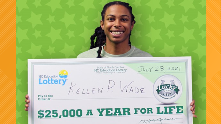 Money, money, money! Guilford County man wins $25,000 a year for life