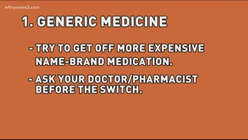 Caregiving 101: Switch to generics or other lower-cost drugs