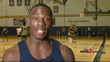 Talking Hoops with UNCG's Isaiah Miller ahead of Saturday's game vs. Chattanooga