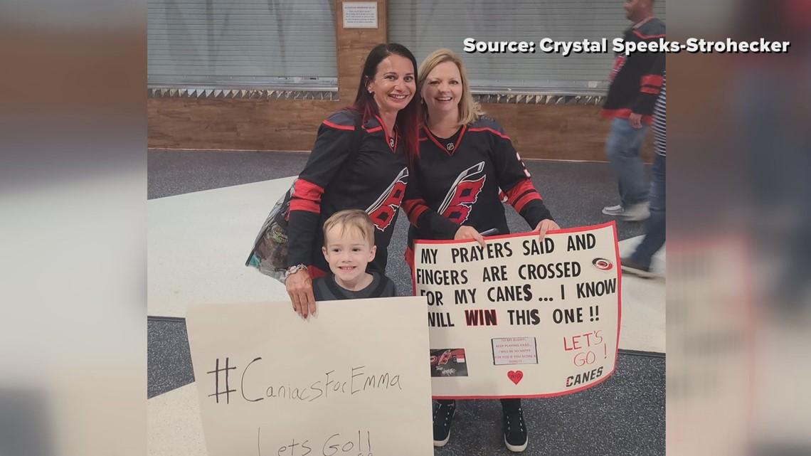 Community raises money to give Canes fan season tickets