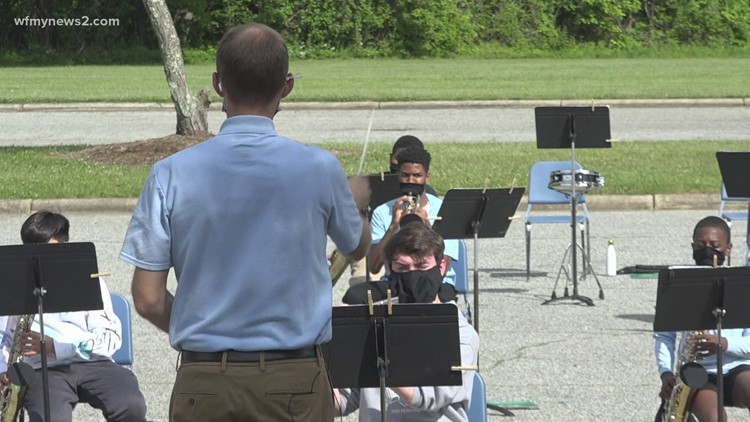 Band is back to normal for Mendenhall Middle... sorta