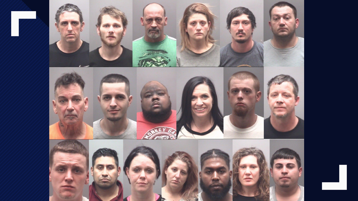 Operation Spring Cleaning' | 19 Arrested, Large Amounts of Drugs