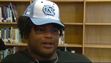Dudley DE Myles Murphy Commits to Play Football at North Carolina