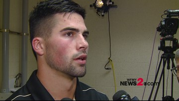 Interview With Wake Forest QB Sam Hartman After Loss To Louisville