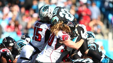 Falcons Hand Panthers Seventh-Straight Loss