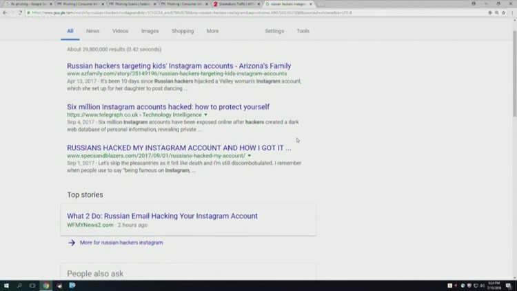 What 2 Do Russian Email Hacking Your Instagram Account Wfmynews2 Com