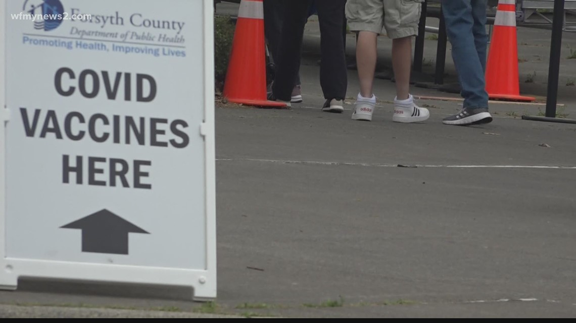 Thousands of Johnson & Johnson appointments on hold at federal vaccine clinic in Greensboro