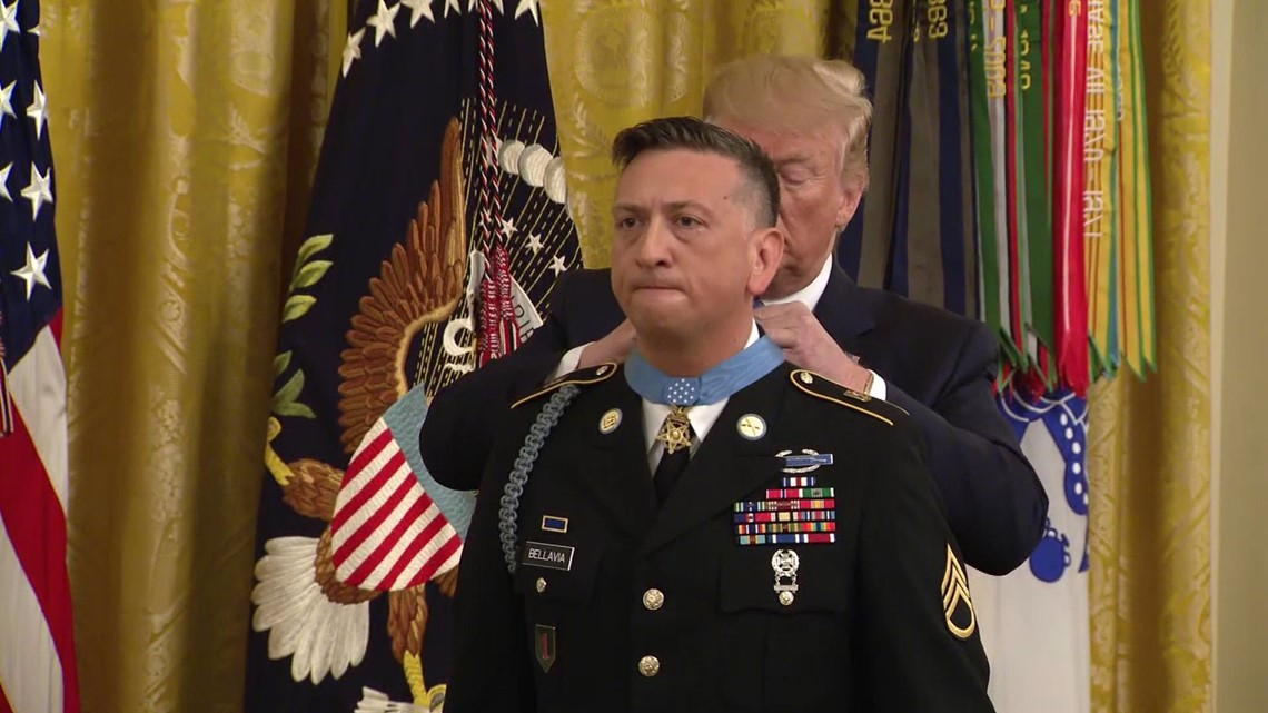 former army staff sgt  david bellavia honored with medal
