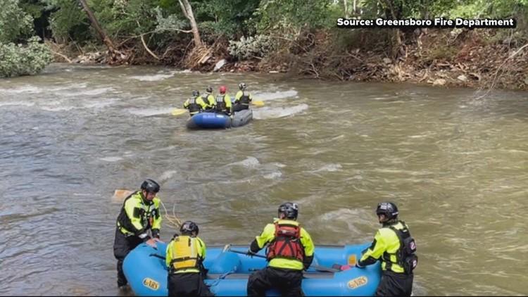 Triad, North Carolina crews deploy in response to Ida