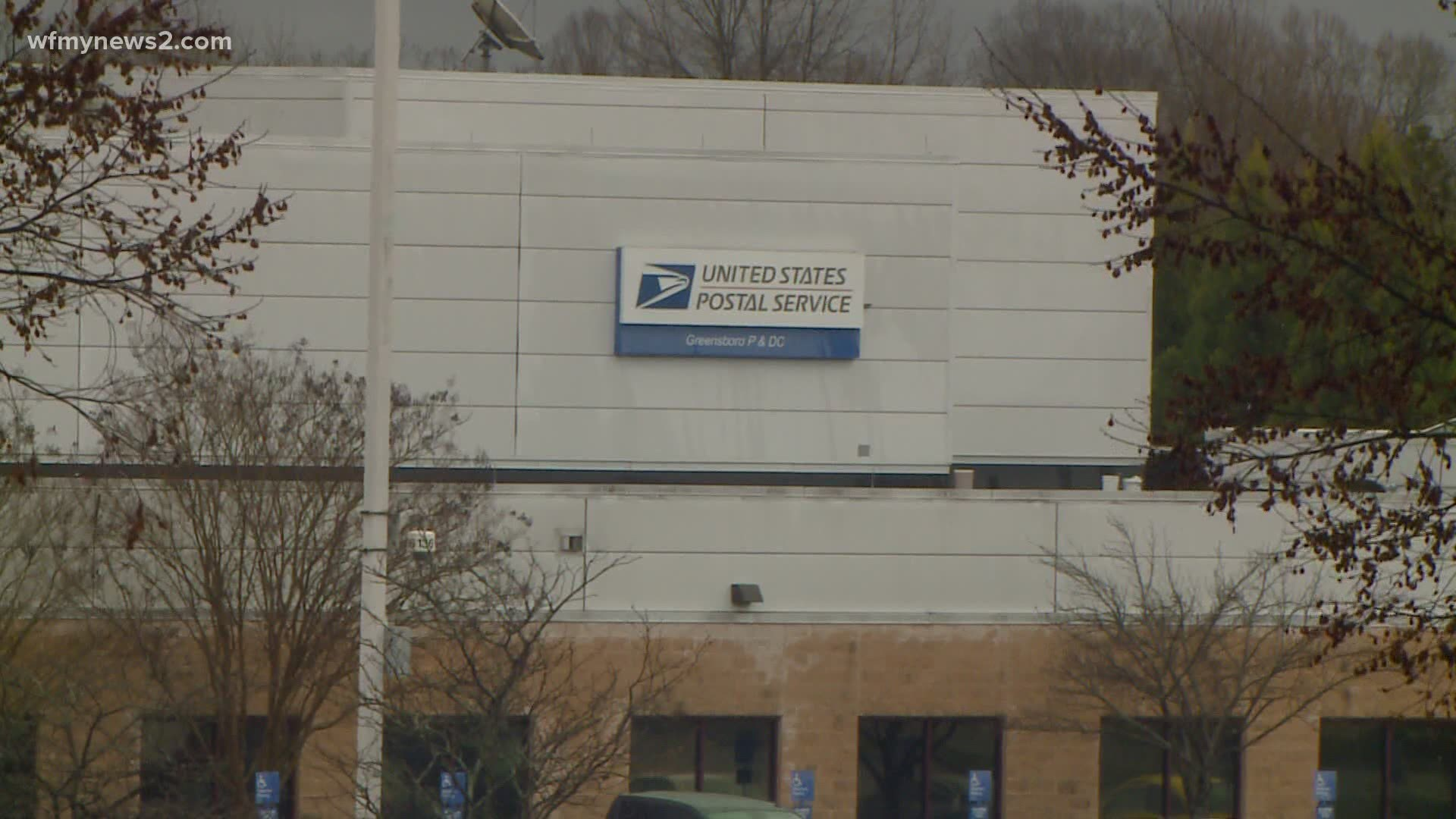 Usps Christmas Eve Hours 2021 W. Peachtree Atlanta Usps Warns Of More Shipping Delays Triad Residents Speak Out Wfmynews2 Com