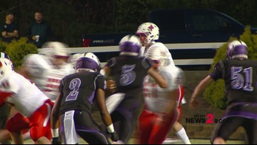 Friday Football Fever: First Half Highlights From East Surry's 35-10 Win Over West Stokes
