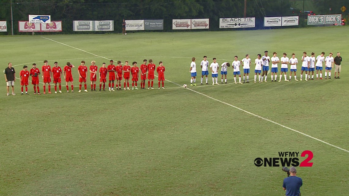 East-West Boys All-Star Soccer Game First Half Highlights