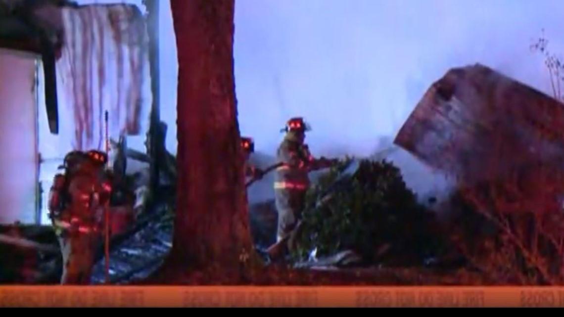 Firefighters Battle Denton Church Fire In Davidson County