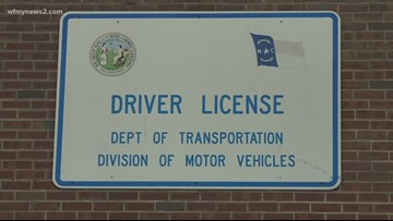 North Carolina DMV's experiencing internet outages, but you can still use a few services at home
